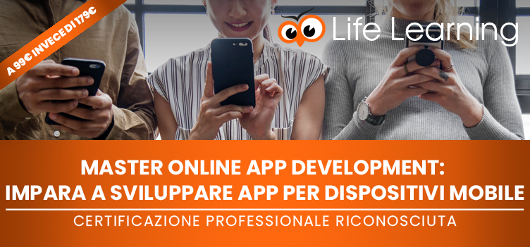 Master online in APP Development!