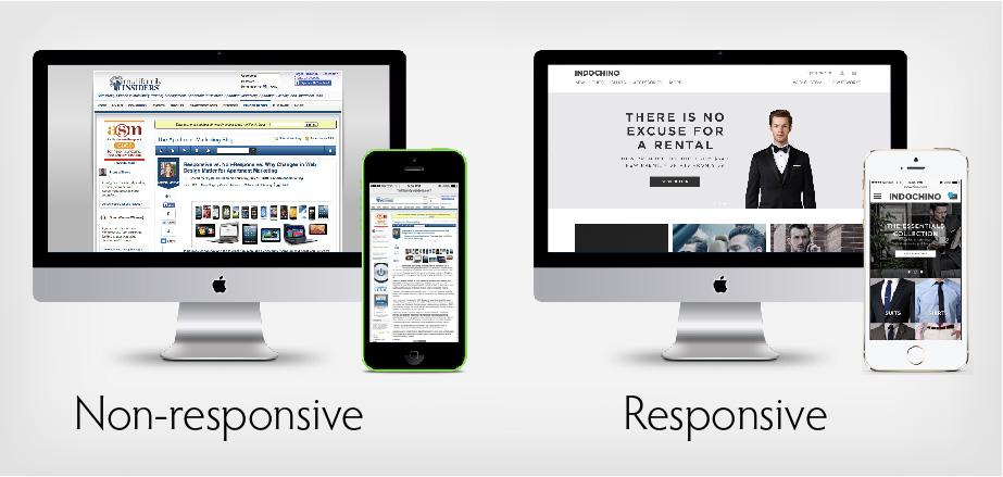sito responsive confronto