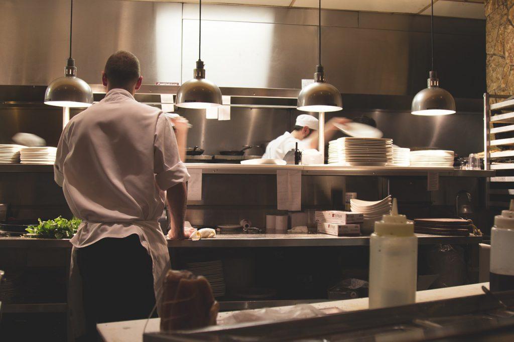 Lavorare in un ristorante