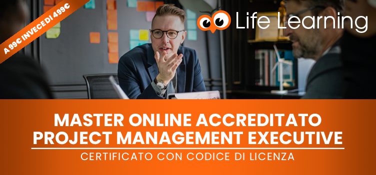 Master Online Accreditato in Project Management