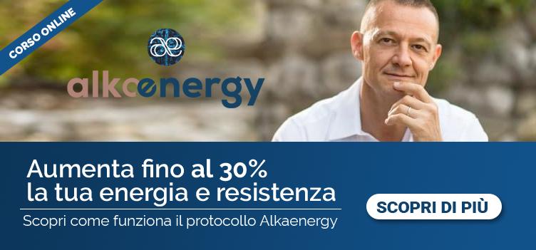 Scopri come aumentare l'energia e la tua resistenza con il protocollo Alkanergy