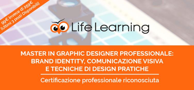 Diventa Grafico con il Master Online Life Learning