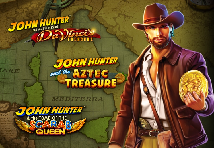John Hunter Slot Series (or Adventures) on SocialTournaments Thumbnail