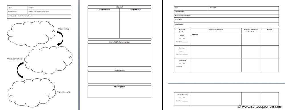 Kurzplanungen-Planungsvarianten-Vorbereitungsdienst-Grundschule