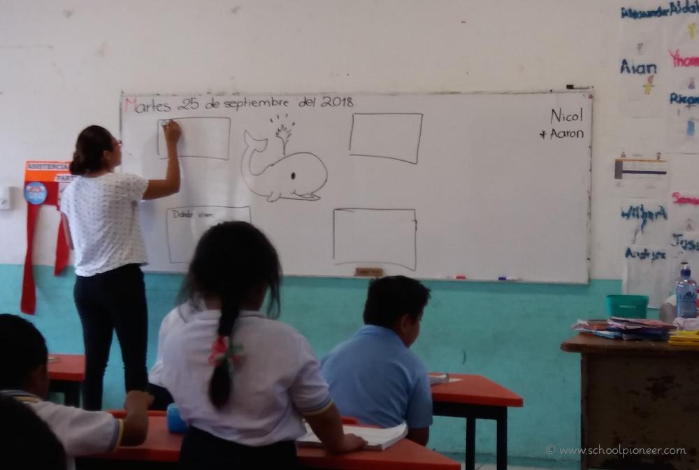Sachunterricht-Erste-Klasse-Grundschule-Mexiko