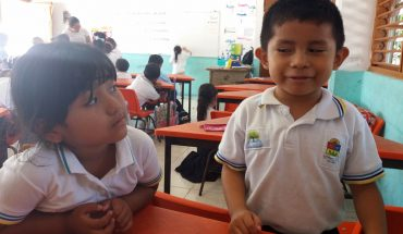 Schüler-Klassenzimmer-Grundschule-Mexiko