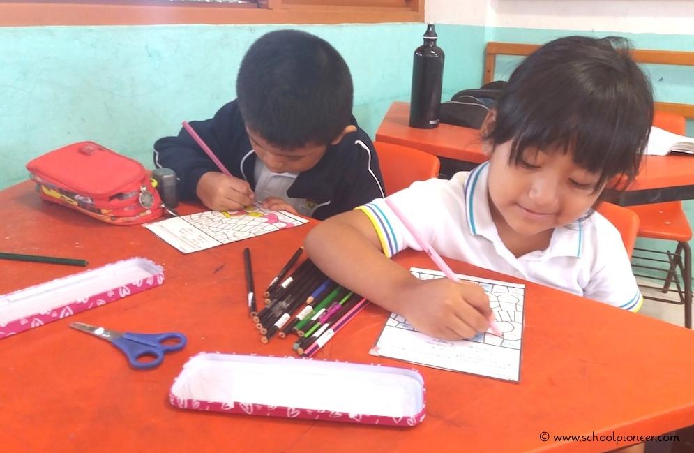 Silben-ausmalen-Grundschule-Mexiko