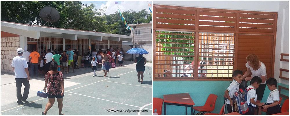 Unterrichtsende-Grundschule-Mexiko