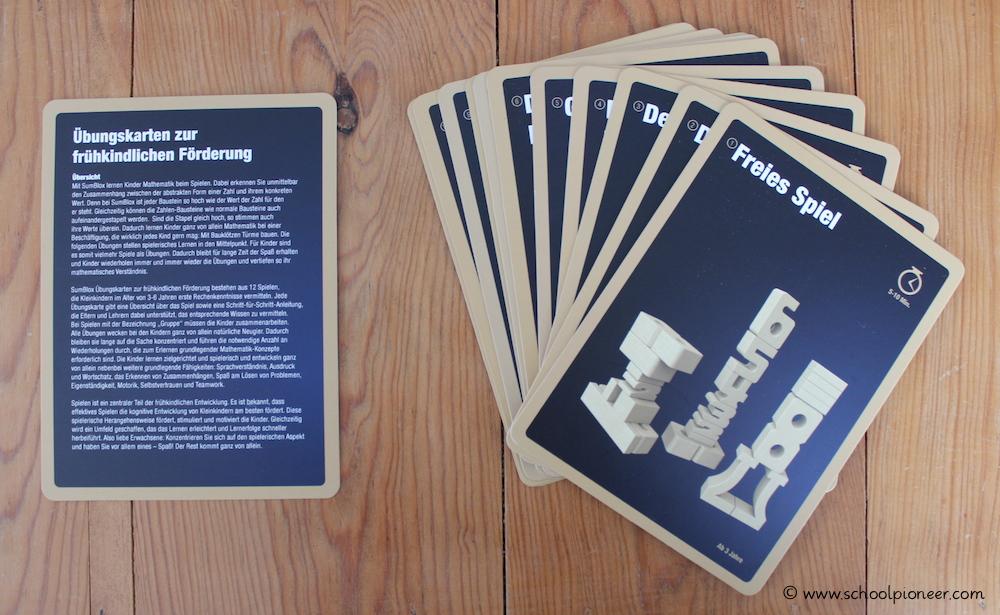 SumBlox-Zahlenbausteine-Lernspielkarten