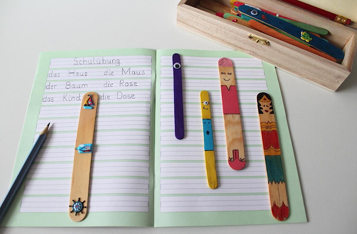 Leerzeichen-Stäbchen-Wortabstände-Spatien-Schreiben-Grundschule