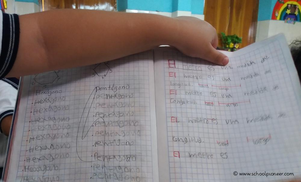 Abschreiben-Mathematik-Grundschule-Privatschule-Mexiko