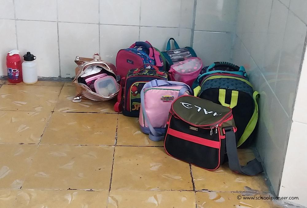 Frühstückstaschen-Grundschule-Privatschule-Mexiko