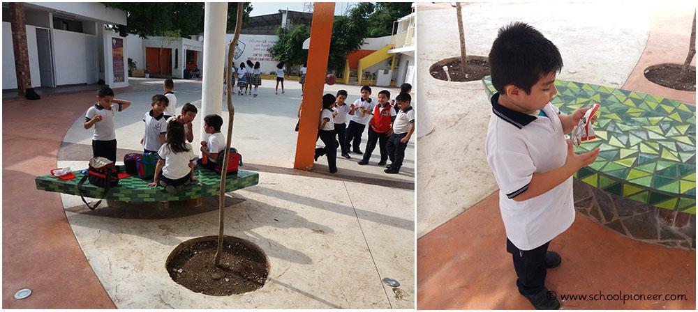 Pause-Pausenhof-Grundschule-Privatschule-Mexiko