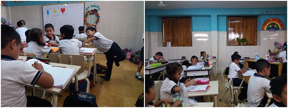 Geschlossene-Fenster-nachlassende-Konzentrationsfähigkeit-Grundschule-Privatschule-Mexiko