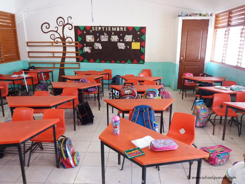 Klassenzimmer-Grundschule-Mexiko1