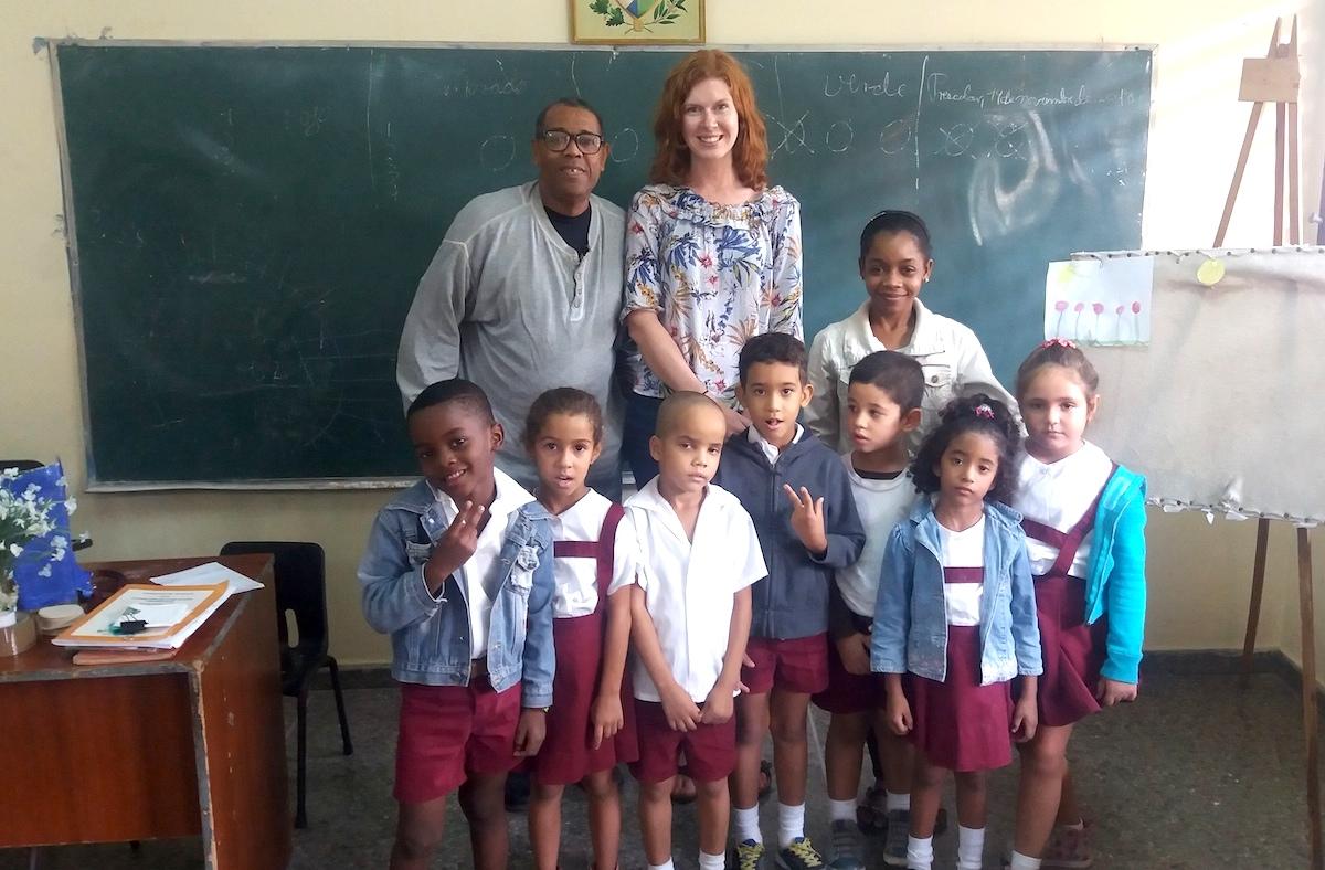 Kuba-Grundschule-Besuch