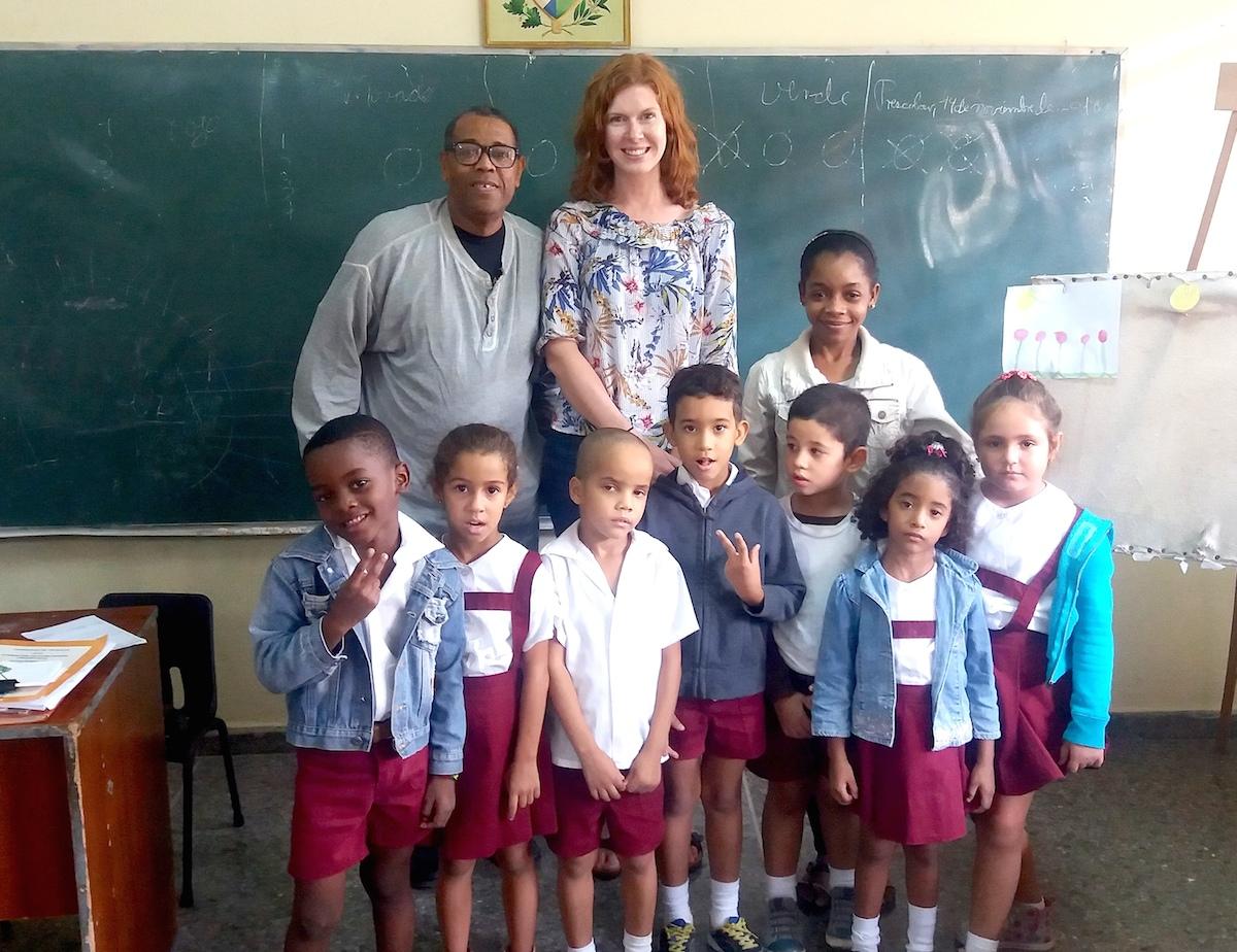 Preescolar-Gruppe-Kuba-Havanna
