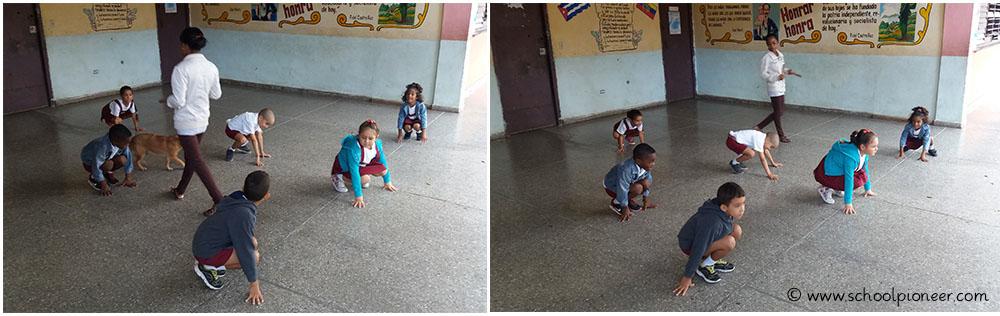 Gymnastik-Kuba-Preescolar-Schulbeginn