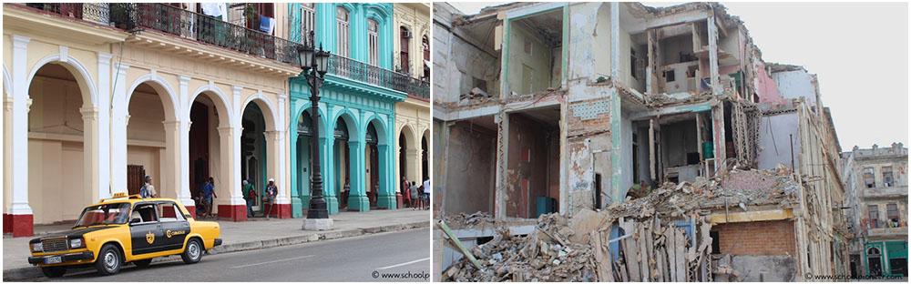 Havanna-Kuba-Gegensätze