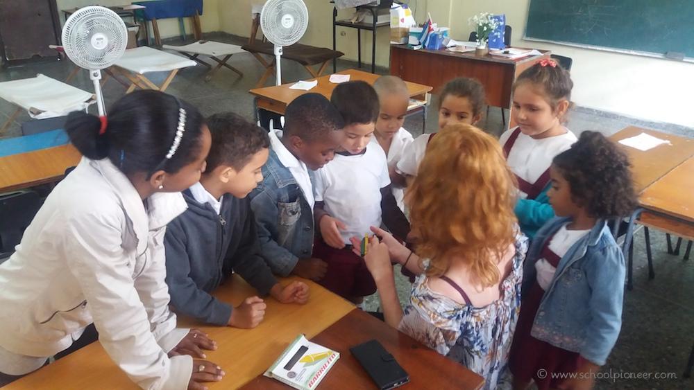 Gastgeschenke-Grundschule-Kuba