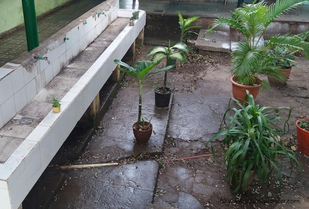 Wasserstelle-Schulgarten-Kuba-Grundschule