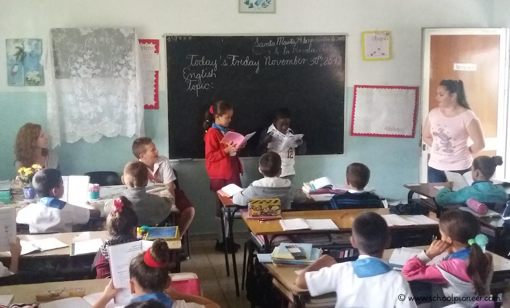 Englischunterricht-mündliche-Noten-Kuba-Grundschule