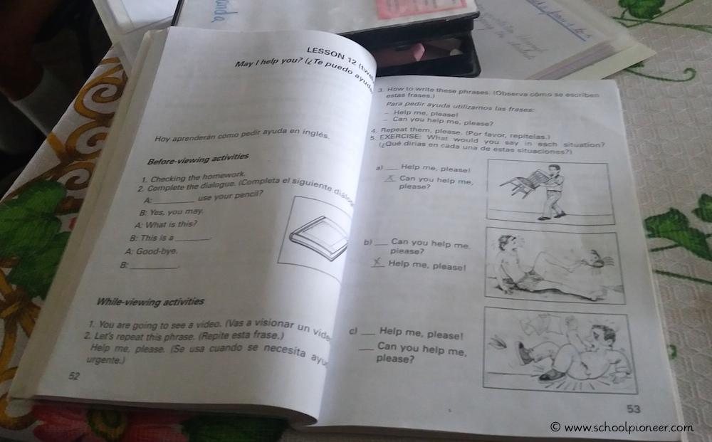 Englischunterricht-Kuba-Grundschule