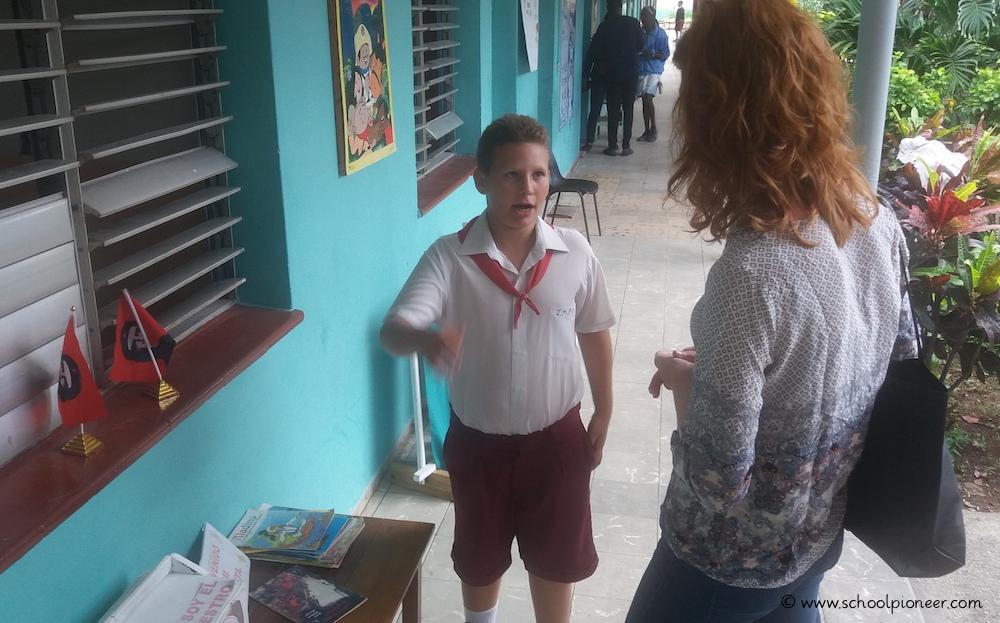 Austausch-Grundschule-Kuba