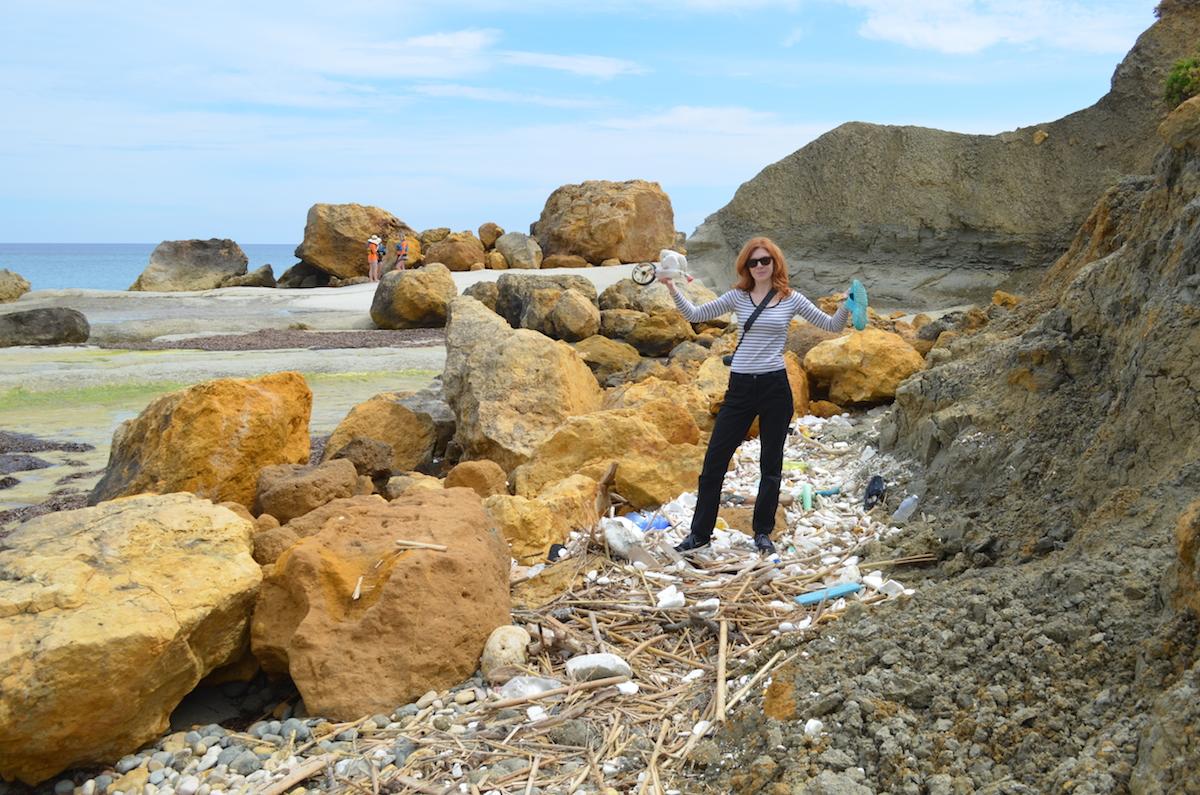 Trash-Walk-Grundschullehrerin-Müll-Umweltschutz