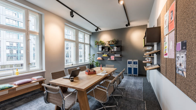 flexibles Arbeiten in Coworking Spaces