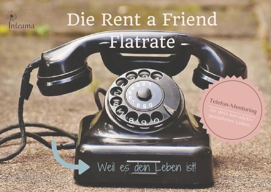 """Die """"Rent a Friend"""" Flatrate"""