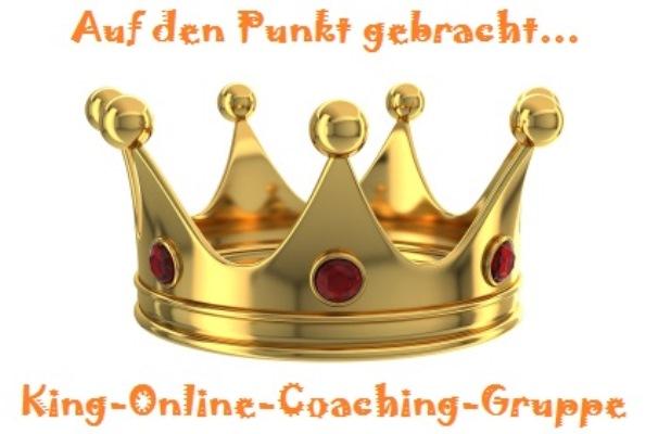 Einladung zur King-Online-Coaching-Gruppe