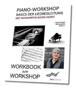 Klavier-Liedbegleitung: Arbeitsbuch