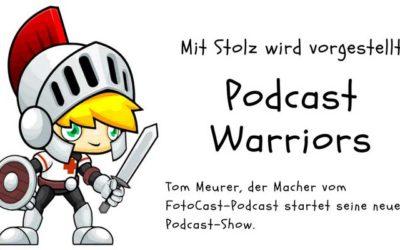 Vorstellung der Reihe Podcast Warriors