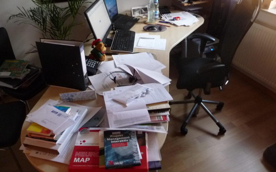Produktiver arbeiten am Schreibtischarbeitsplatz