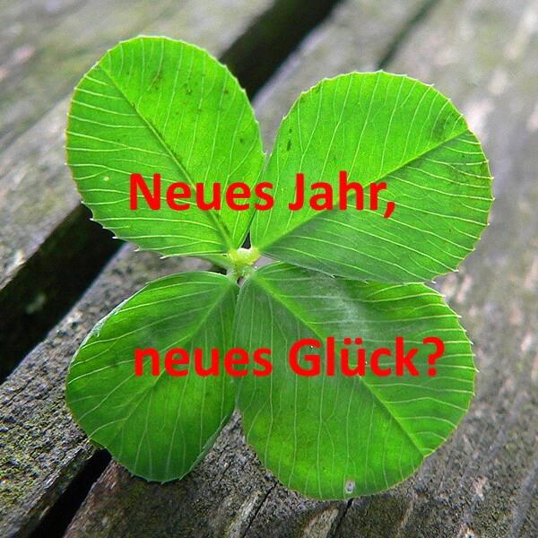 Neues Jahr – neues Glück – neue Ordnung?