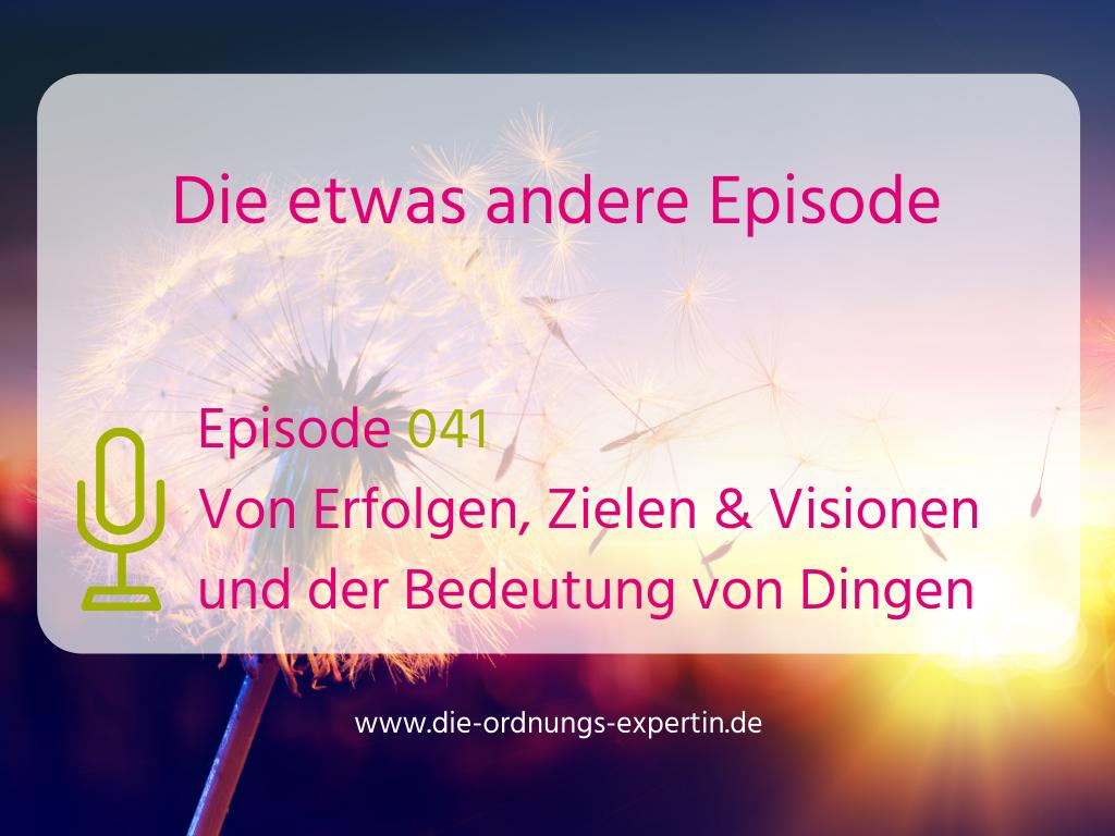 041 – Die etwas andere Episode