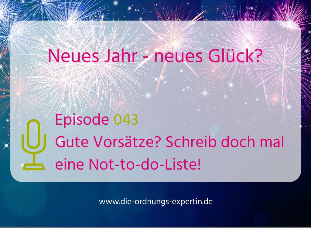 043 – Neues Jahr, neues Glück?