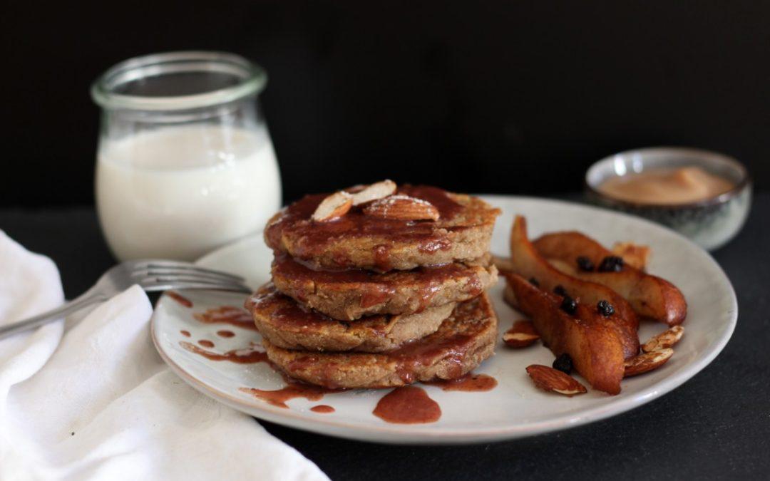 Kürbis Spice Pancakes