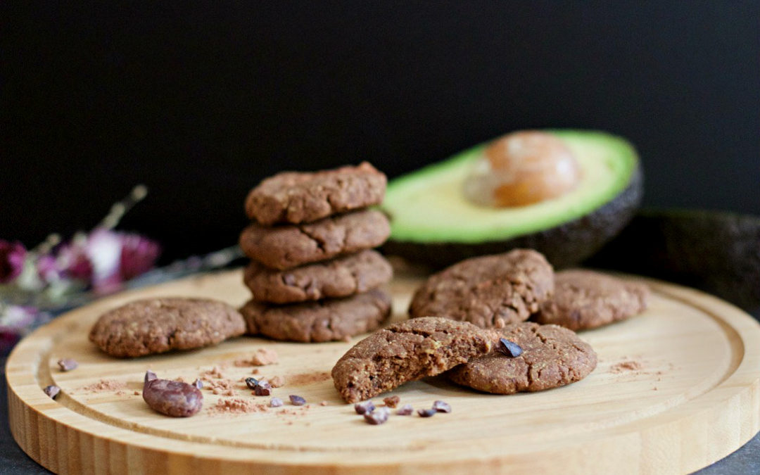 Avocado Schoko Cookies