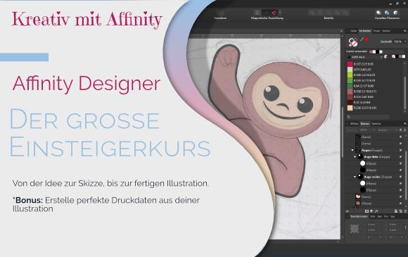 Affinity Designer - Der große Einsteigerkurs