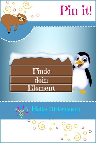 Die Pinguin Geschichte von Dr. Eckhart von Hirschhausen - Finde dein Element