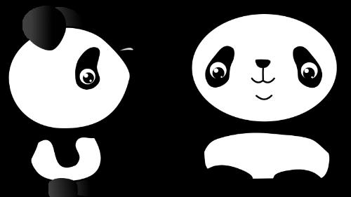 Panda Doodle Kawaii