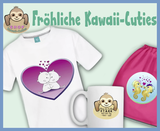 Hallo 2019 – hallo Kawaii-Cuties