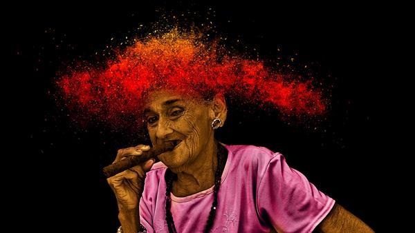 Rauchen macht alt