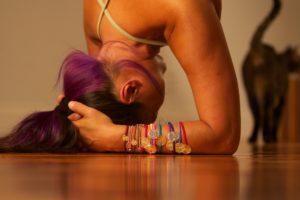 Kopfstand - mit Vorsicht zu genießen
