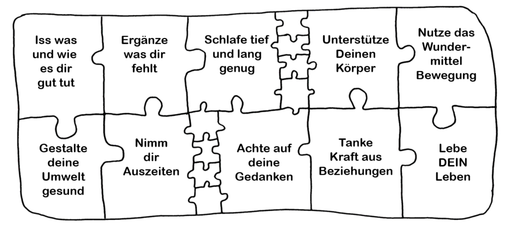 Gesundheits-Puzzle