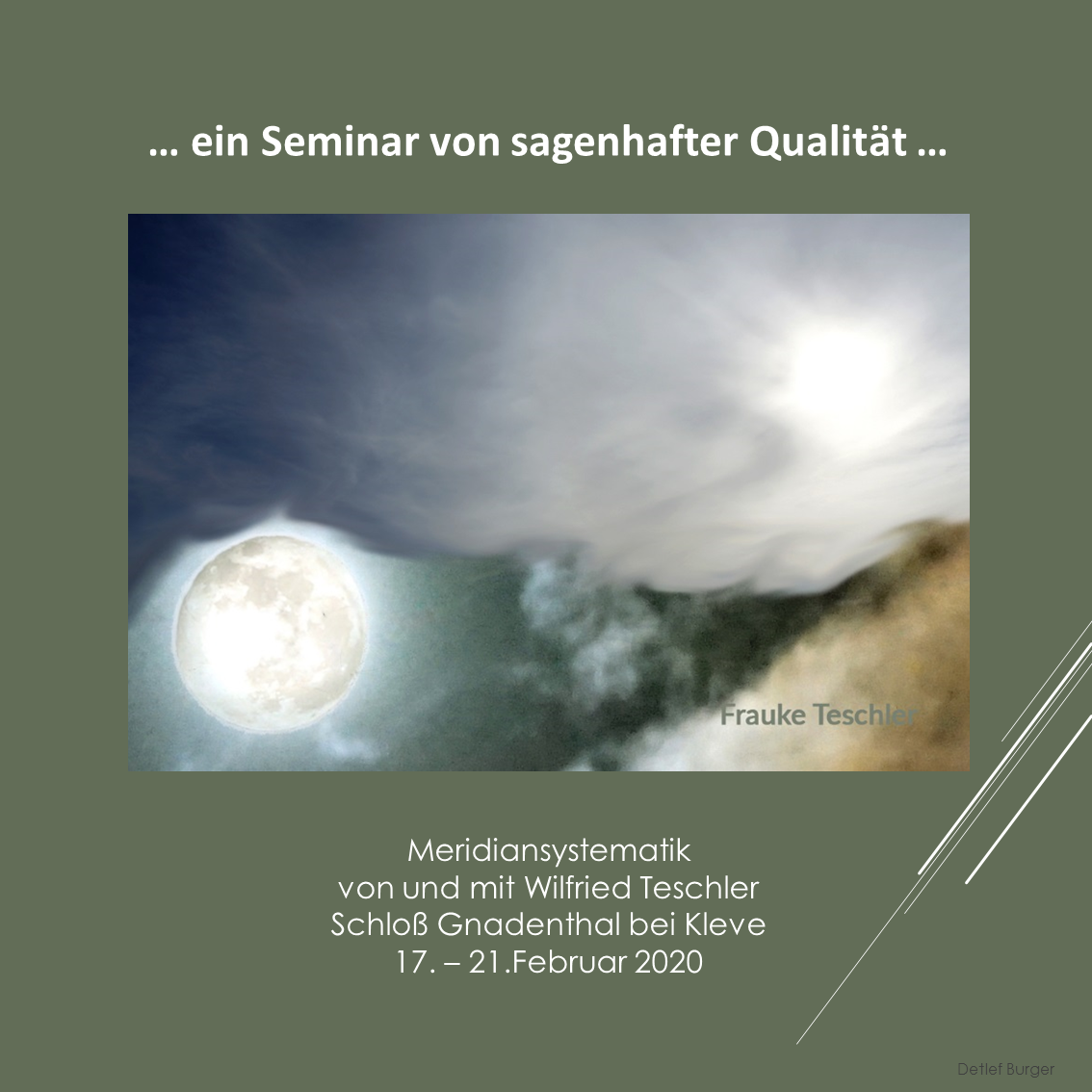 … ein Seminar von sagenhafter Qualität …