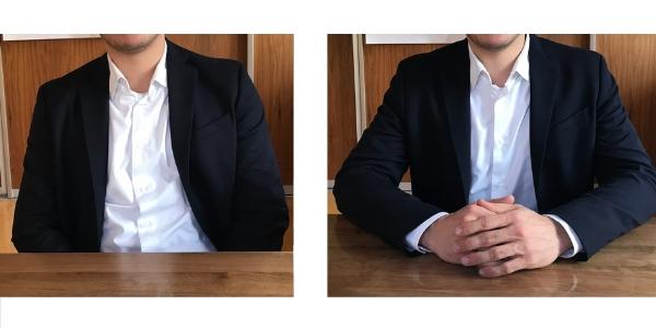 Rhetorik Tipp – Sitzen am Tisch
