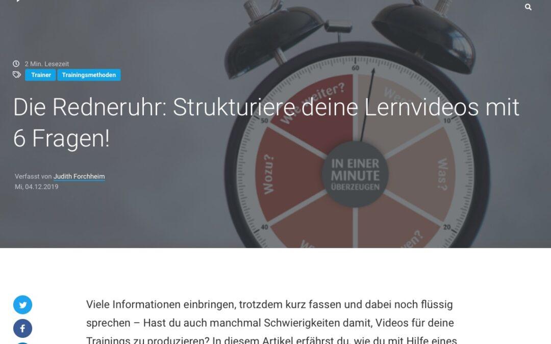 Die Redneruhr – Empfehlung Blink.it